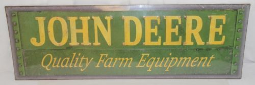 Open Road LP67206 Metal Sign John Deere Quality Farm Equipment