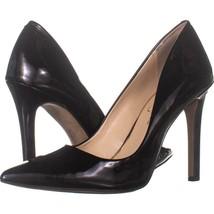 Jessica Simpson Cassani Pointed Toe Classic Heels 983, Black Patent, 9 U... - $24.18