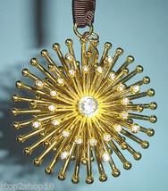 "Kate Spade Bejeweled Starburst Ornament 2.25"" Crystal Gems Lenox New - $42.90"