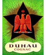 Duhau - French Cognac - 1920's - Promotional Advertising Poster - $9.99+