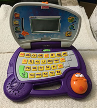 Fisher Price Fun-2-Learn Laptop - Letters Alphabet Phonics, Tested & Works - $59.39