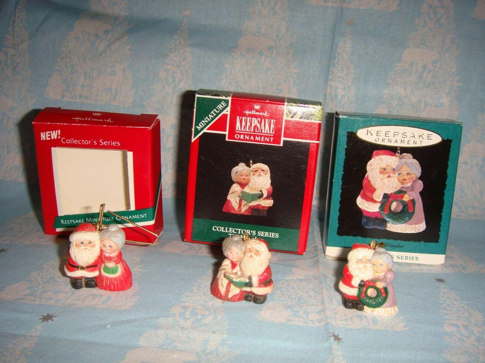 Hallmark Miniature The Kringles 1989, 1992 & 1993 Lot Of 3 Series Ornaments image 3