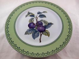 ANDREA BY SADEK Japan Winterthur Adaptation Fruit Plum prune Dinner Plat... - £10.68 GBP