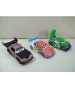 LOT OF 3 DISNEY CARS DIE CAST CARS WINGO BOOST TUNERS VITALY PETROV ICE ... - $16.61