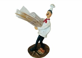 Toothpick Holder Italian chef cook sous figurine Italy resin sculpture d... - $23.17