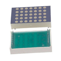 """Kingbright, 5x7 Dot matrix, 1.2"""" Red LED display,  - $8.54"""