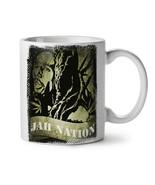 Bob Marley Jah Weed Rasta NEW White Tea Coffee Mug 11 oz | Wellcoda - $15.99