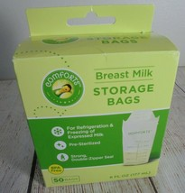 Comforts breast milk pumping storage bags 50 count 6 oz New Open Box - $9.50