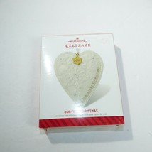 Hallmark Keepsake Ornament 2014 Our First Christmas w/box - $3.95