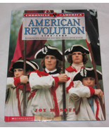 Chronicle Of America Revolution, 1700-1800 Por Joy Masoff 2000 Tapa Dura - $11.81