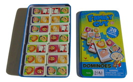 Family Guy Dominoes Game in Collectors Tin-2011 - $12.00