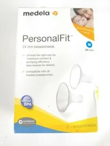 Medela PersonalFit 24 mm Breastshields (Medium) 2 - Breast Shields 87073... - $11.82