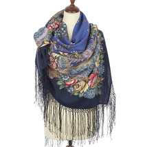 Women's Elite PAVLOVO POSAD Russian Shawl 100% Merino Wool Knitted silk ... - €93,78 EUR