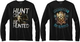 Pre-Sell Monster Hunter Video Game Licensed Long Sleeve Shirt  - $29.75+