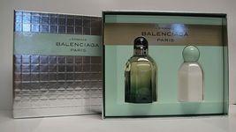 Balenciaga Paris L'essence Perfume 2.5 Oz Eau De Parfum Spray 2 Pcs Gift Set image 1