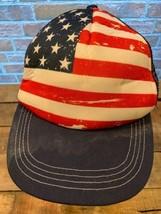 AMERICAN FLAG Stars & Strips USA Snapback Youth Kids Cap Hat - $9.89