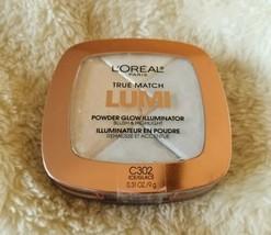 L'Oreal True Match Lumi Powder Glow Illuminator Blush & Highlight C302  - $5.82