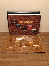 2000 Chevrolet Blaze Owners Manual - $7.91