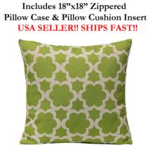 """18x18 18"""" 18in ARABESQUE Harlequin Zippered Throw Pillow Cushion Mosaic ... - $19.99"""