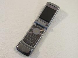 Motorola Motokrzr Cellphone Flip Style K1 Gray Bluetooth 2Mp Camera 9372... - $18.72