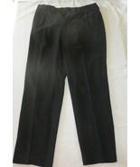 TOMMY BAHAMA Relax Men 100% SILK BLACK Pants 35x32 Straight Pleated - $18.52