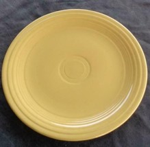 "Vintage Fiesta Yellow 9.5"" Luncheon Plate - EXCELLENT COND - HLC  COLLEC... - $15.83"