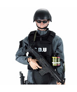 12' action figure 1/6 size 30cm height SDU soldier figure model toy - $28.00