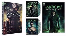 Arrow ALL Season 1-4 Complete DVD Set Collection Series TV Show Box Lot ... - $79.19
