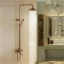Aurélie Antique Brass Wall Mounted Shower Set - $549.00