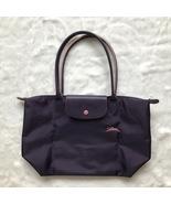 France Longchamp Le Pliage Club Collection Horse Embroidery Small Tote B...  - € d5ea18e7e9276