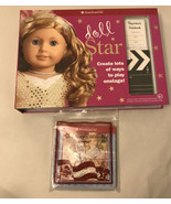 American Girl Doll Star Craft set unused retired rare 2012 make guitar And Toy - $7.92