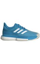 Adidas SoleCourt Boost Clay Women's Sz 7 Tennis Shoes Sports Athletic Bl... - $78.30