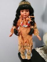 Native Indian Porcelain Doll - $10.00