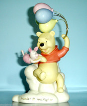 Lenox Disney WINNIE THE POOH Friends Lift You Higher with Piglet Figurin... - $94.90