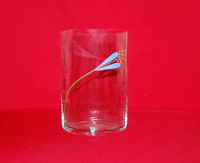 Orrefors Sweden Crocus Enamel Glass Vase And 15 Similar Items