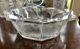 Lalique Partidge Quail Bowl Mint Condition Signed, & Authentic (Caille Perdrix) - $968.22