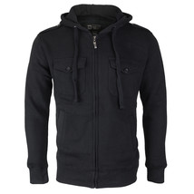 Niko Sportswear Men's Multi Pocket Fleece Lined Hooded Zip Up Jacket BJH-01 image 2