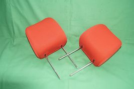 10-13 Kia Soul Front Cloth 2 Headrests Headrest Set RED image 7