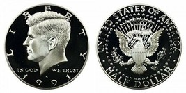1991 S Proof Kennedy Half Dollar CP2030 - $4.75
