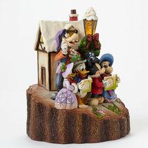 """7.25"""" """"Holiday Harmony """"Mickey, Pluto, Donald Duck- Jim Shore Disney Traditions image 4"""