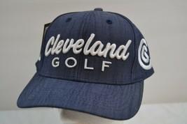 Cleveland Golf Blue Baseball Cap NWT Adjustable Strap - $26.99
