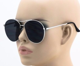 Aviator Modern Semi Rimless Cut Off Women Men Fashion Oceanic Lens Sungl... - $9.85+