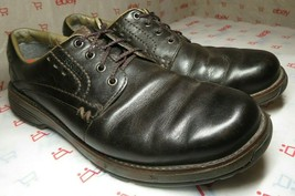 Merrell Realm Mens 10.5 Brown Espresso Leather Lace Up Oxford Shoes J42137  - $55.74