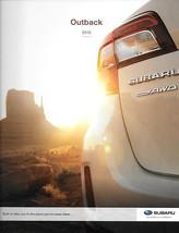 2015 Subaru OUTBACK brochure catalog 2nd Edition 15 US 2.5i Premium 3.6R... - $8.00