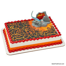 JURASSIC PARK Cake Decoration Party Supplies TOPPER KIT Favor Dinosaur M... - $10.84