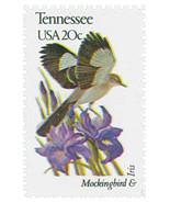 1982 20c State Birds & Flowers, Tennessee, Mockingbird & Iris Scott 1994... - $1.89