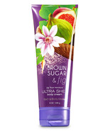 Bath & Body Works Brown Sugar & Fig 24-Hour Moisture Ultra Shea Body Cre... - $11.77