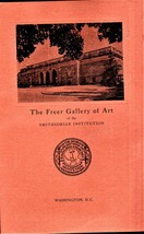 The Freer Gallery of Art of The Smithsonia Institution - $2.25
