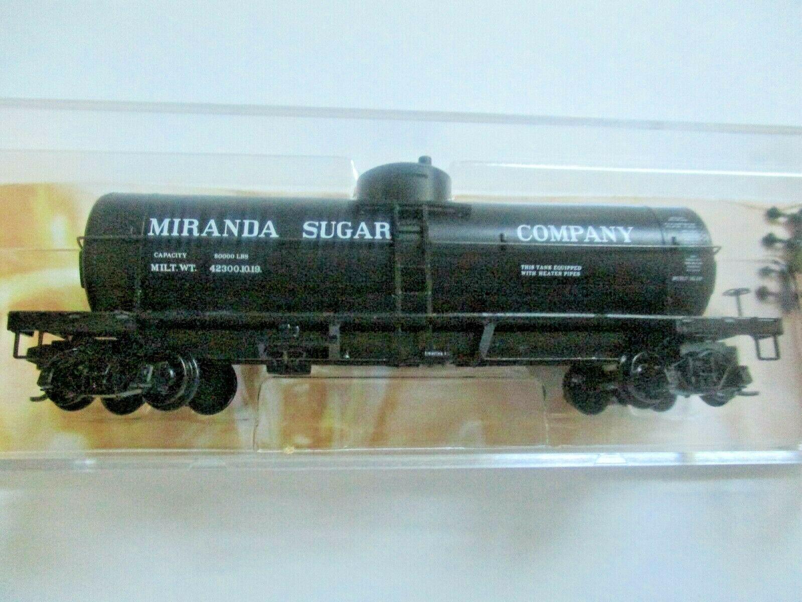 Micro-Trains # 06500166 Miranda Sugar 39' Single Dome Sweet Liquid Tank  N-Scale