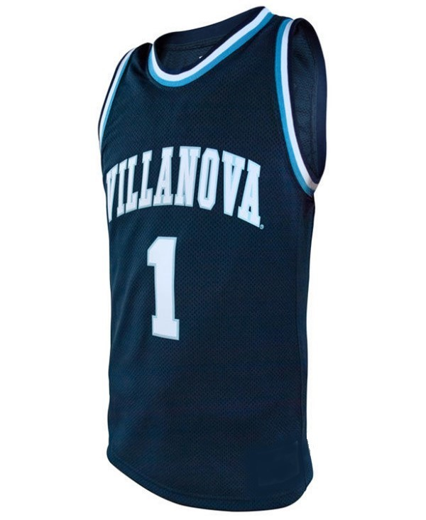 Kyle lowry college basketball jersey navy blue   1